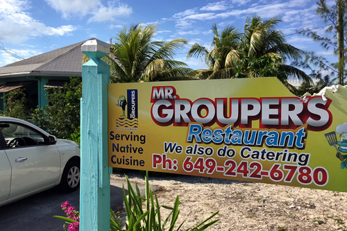 Even at Mr. Groupers in the Turks and Caicos Islands (TCI) the local restauranteur is forced to serve frozen grouper. For the first time in history, the country has implemented a closed season for the Nassau Grouper.