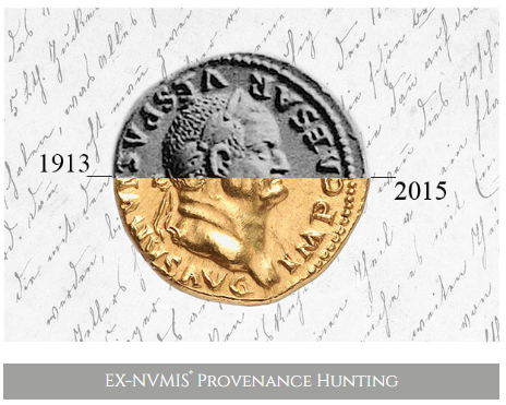 A revolutionary new technology allows collectors to quickly identify or verify a coin's provenance. The website, Ex-Numis, uses image recognition software to locate coins illustrated in auction catalogs.