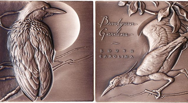 2017 Brookgreen Medal was designed by Heidi Wastweet