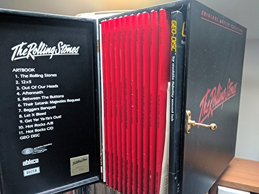 Rolling Stones Mobile Fidelity Sound Labs Box Set Remains Unequaled