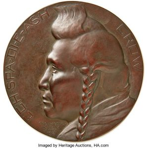 1912 Bronze Galvano, Edward Warren Sawyer