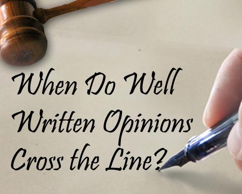 Written Judicial Opinions