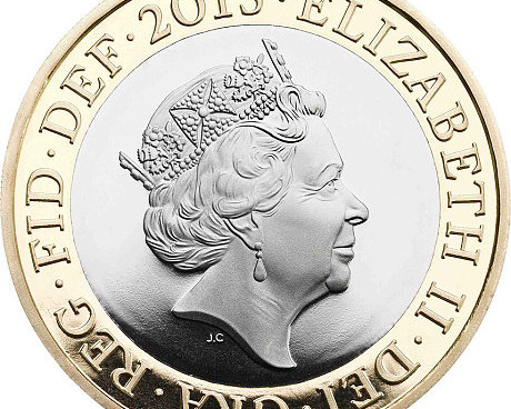 Britain's Queen Elizabeth II continues to age gracefully both in life and in coin. This coin is fromTelegraph UK