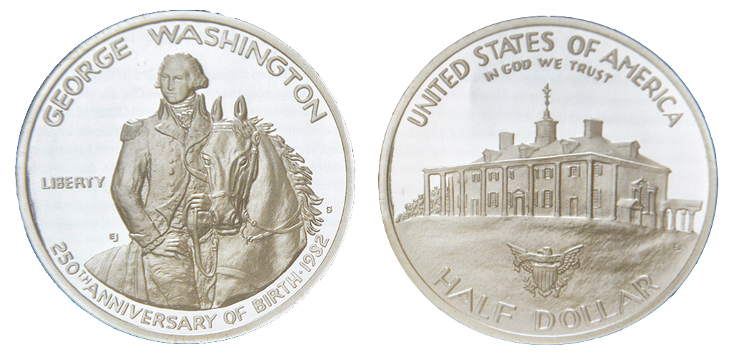 United States, 50 cent silver KM#208 Image