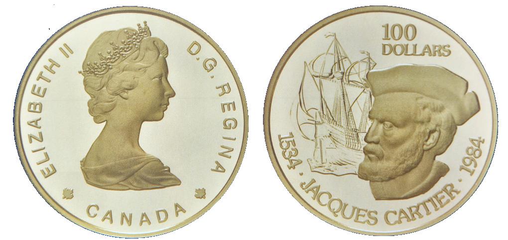 Canada, 100-Dollar, Gold KM#142 Image