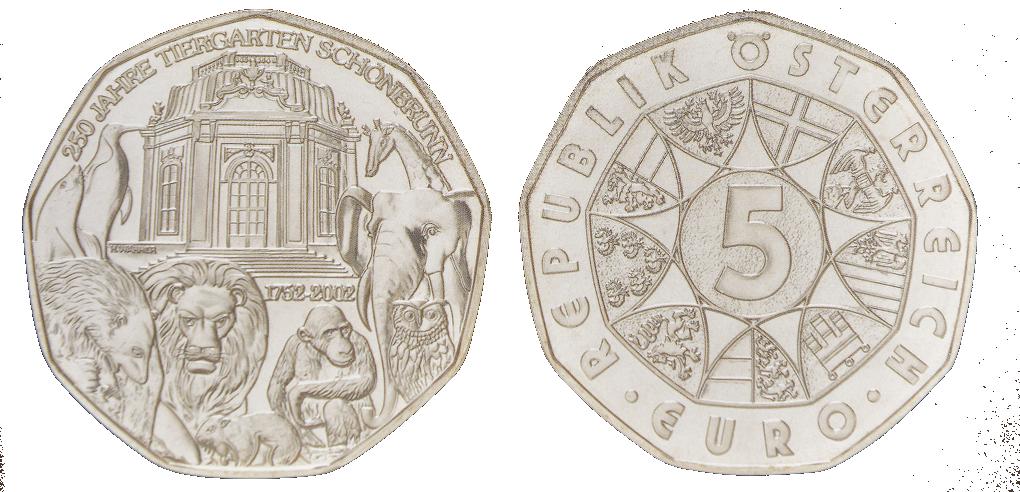 Austria 5 Euro Silver KM#3091 Image