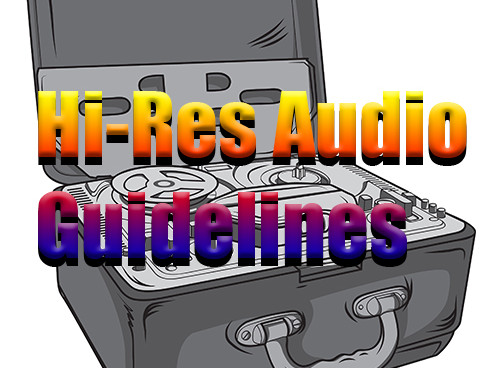 The Recording Academy Producers & Engineers Wing recently announced the creation of a series of Hi-Res Audio Production Guidelines.