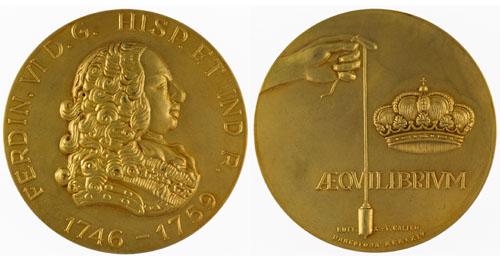 King Ferdinand VI, 1746 – 1759 Image