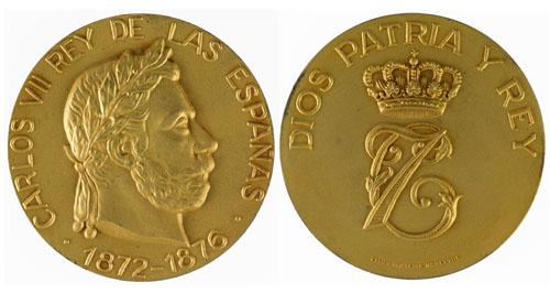 King Carlos VII, 1872 – 1876 Image
