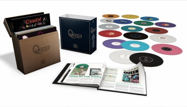 Queen released a complete Studio Album Collection in vinyl last year. The Queen Vinyl Box was priced at $300 and it became an instant collector's item.