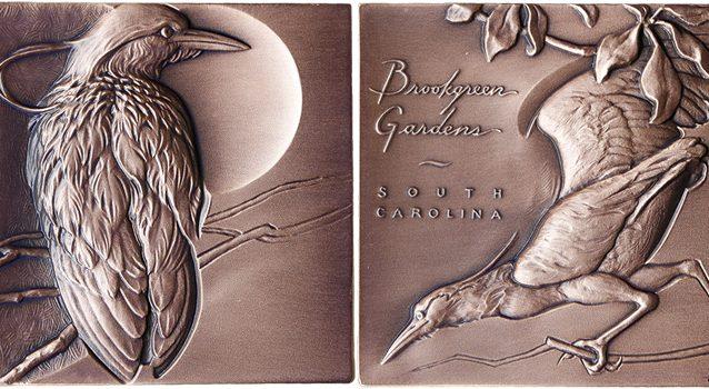 2017 Brookgreen Medal was designed by Heidi Wastweet