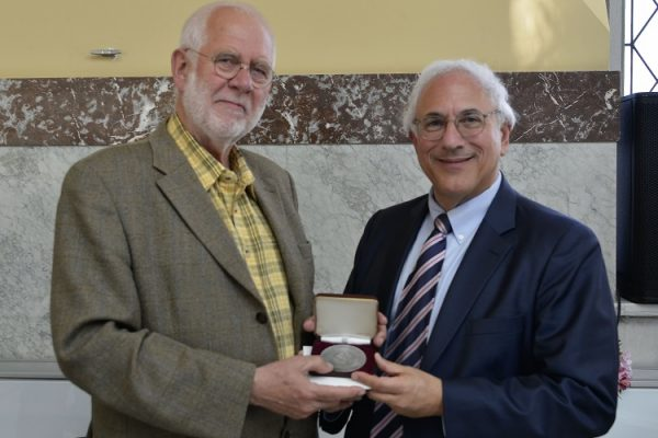 Geer Steyn Receives the Saltus Award at FIDEM 2018