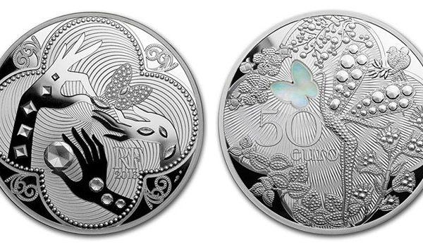 50 Euro silver Van Cleef & Arpels