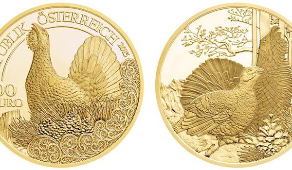 Austria's 100 euro Capercaille