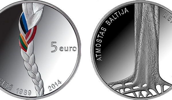 Baltic Way five-Euro