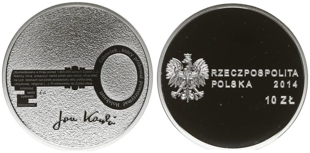 Poland's 10 zlotych silver coin